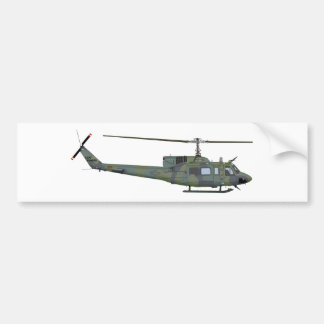 Bell UH-1N 455455 Bumper Stickers