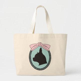 bella cameo large tote bag