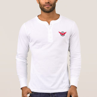 Bella Canvas Henley Long Sleeve Hawk 2 Shirt