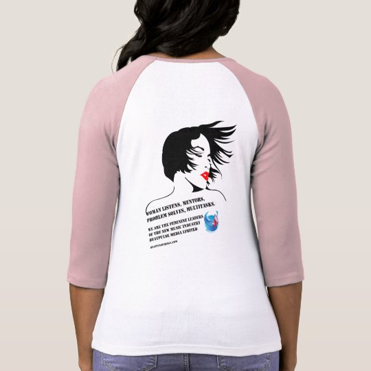 Bella Feminine Leaders Raglan T-Shirt 2