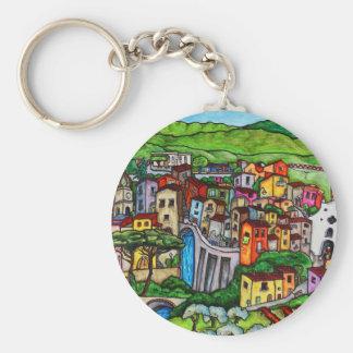 Bella Guardia Basic Round Button Key Ring