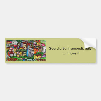 Bella Guardia Bumper Sticker