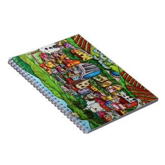 Bella Guardia Spiral Notebook
