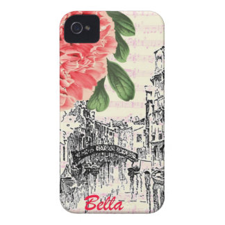 Bella Italy Peony iPhone 4 Covers