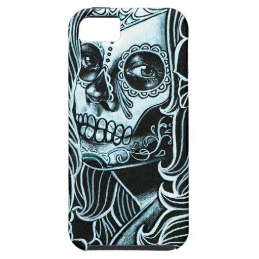 Bella Morte Day of the Dead Sugar Skull Girl iPhone 5 Case