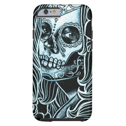Bella Morte Day of the Dead Sugar Skull Girl iPhone 6 Case