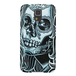 Bella Morte Day of the Dead Sugar Skull Girl Galaxy S5 Cover