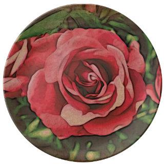 Bella Rosa Plate