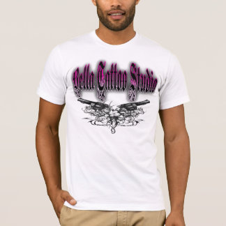 Bella tattoo studio Mens Design T-Shirt