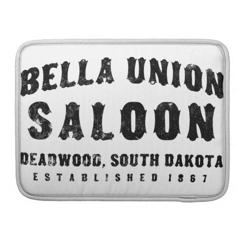 Bella Union Saloon Sleeves For MacBooks
