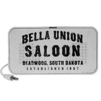 Bella Union Saloon Travel Speakers