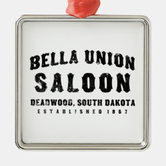 Bella Union South Dakota Christmas Ornament