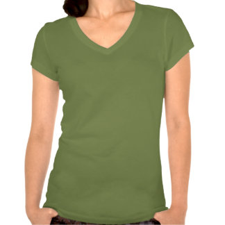Bella V-Neck Tee with Jody Image for Small Women