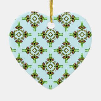 Belladonna1 Ceramic Heart Decoration