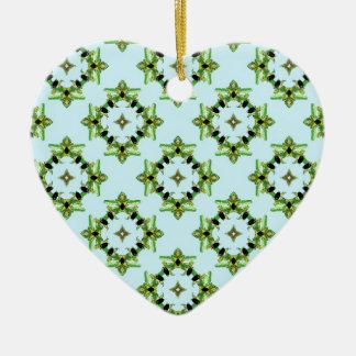 Belladonna2 Ceramic Heart Decoration