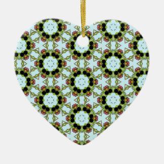 Belladonna3 Ceramic Heart Decoration