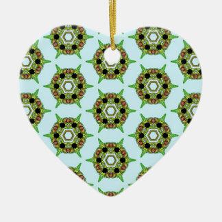 Belladonna5 Ceramic Heart Decoration