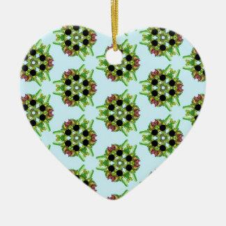 Belladonna7 Ceramic Heart Decoration