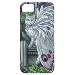 Belladonna White Fairy Cat Barely There iPhone 5 Case