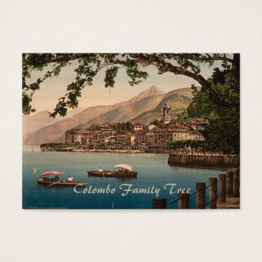Bellagio I, Lake Como, Lombardy, Italy Business Card
