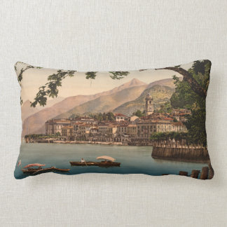 Bellagio I, Lake Como, Lombardy, Italy Lumbar Cushion