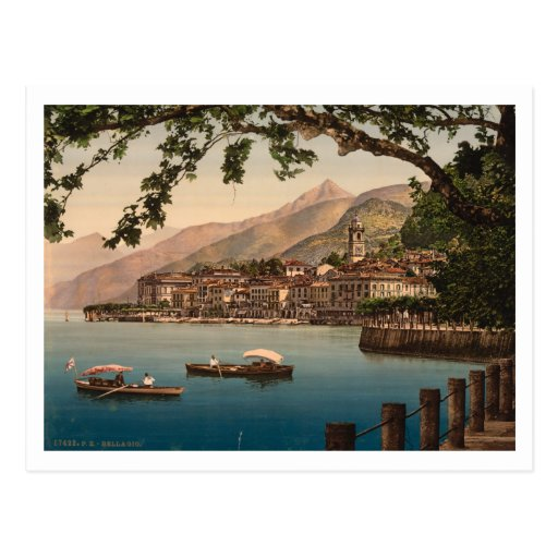 Bellagio I, Lake Como, Lombardy, Italy Post Cards