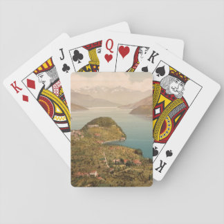 Bellagio IV, Lake Como, Lombardy, Italy Playing Cards