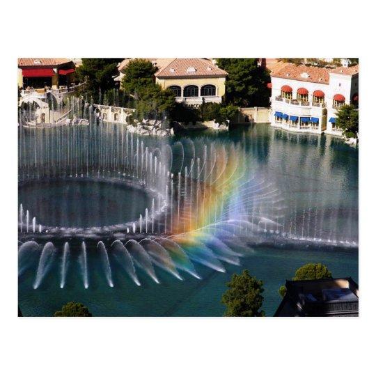 Bellagion Fountains 4, Las Vegas Postcard