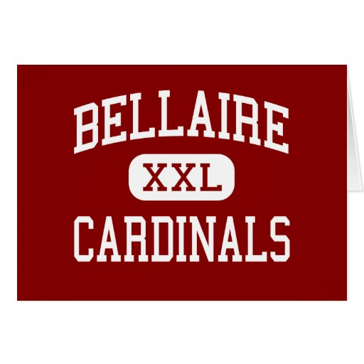 Bellaire - Cardinals - High - Bellaire Texas Cards