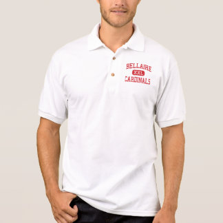 Bellaire - Cardinals - High - Bellaire Texas Polo T-shirts