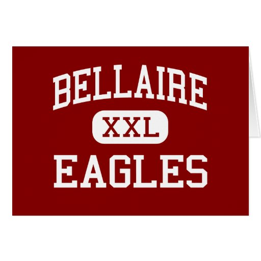 Bellaire - Eagles - High - Bellaire Michigan Greeting Card