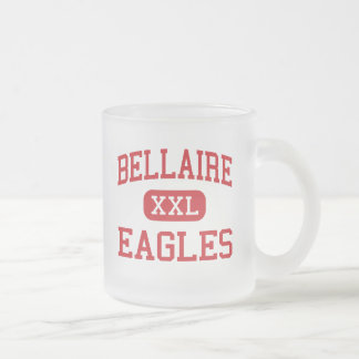 Bellaire - Eagles - High - Bellaire Michigan Frosted Glass Mug