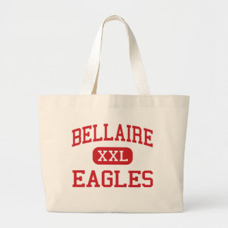 Bellaire - Eagles - High - Bellaire Michigan Jumbo Tote Bag