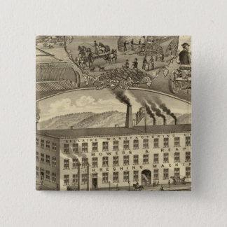 Bellaire Manufacturing Company Bellaire, Ohio 15 Cm Square Badge