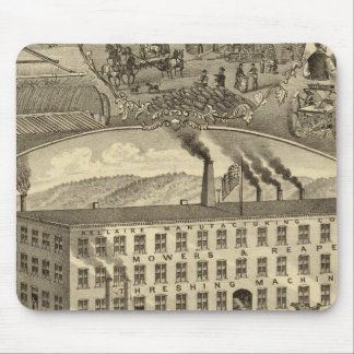 Bellaire Manufacturing Company Bellaire, Ohio Mouse Mat