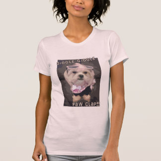 Bella's Giggle Giggle Paw Clap T-Shirt