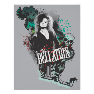 Bellatrix Lestrange Graphic Logo Poster