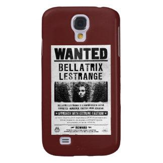 Bellatrix Lestrange Wanted Poster Galaxy S4 Case