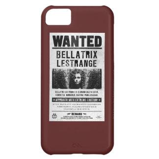 Bellatrix Lestrange Wanted Poster iPhone 5C Case