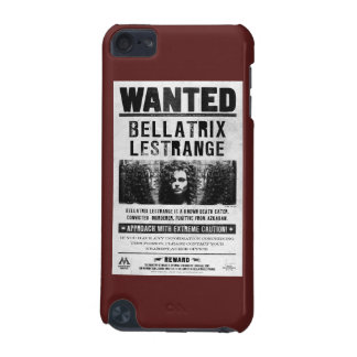 Bellatrix Lestrange Wanted Poster iPod Touch 5G Cases