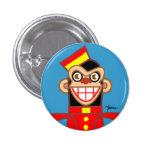 Bellboy Chimp Pins