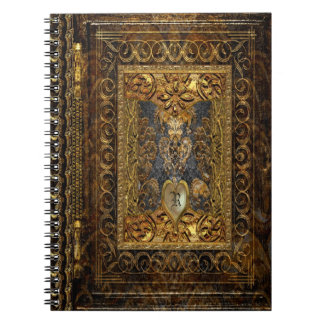 Belldore  Victorian Elegant Monogram Notebooks