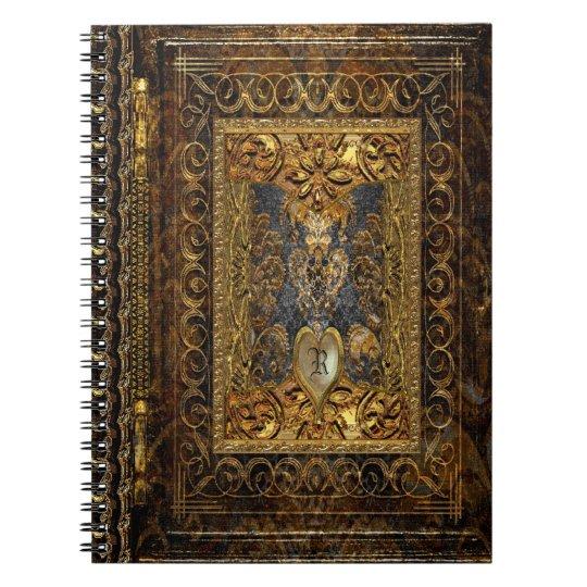 Belldore Victorian Elegant Monogram Notebooks