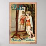 Belle ~ Artiste de Cirque ~ Vintage Circus Poster