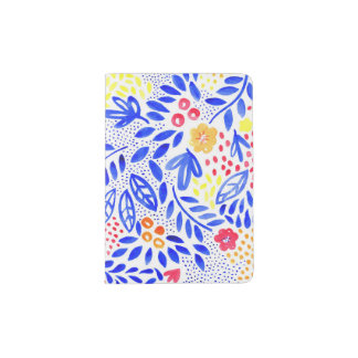 Belle Bold Floral Passport Holder