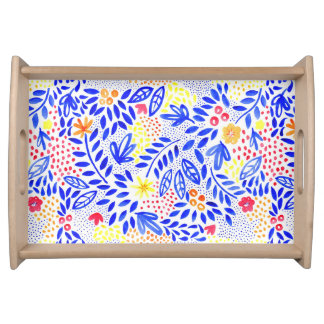 Belle Bold Floral Serving Tray