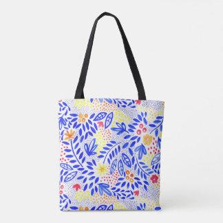 Belle Bold Floral Tote Bag