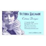 Belle Epoque Elegant Art Nouveau Business Card