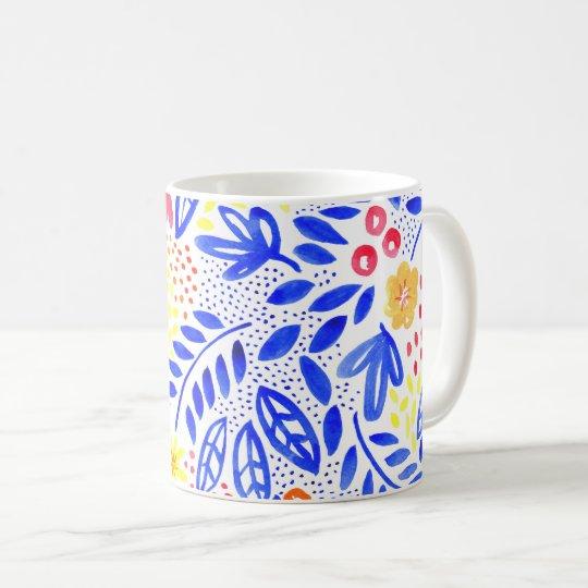 Belle Floral Watercolour Mug