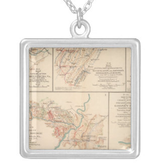 Belle Grove battle Silver Plated Necklace